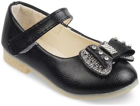 Kittens Black Ballerinas For Girls