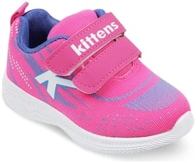 KITTENS Girls Pink Sneakers Shoes