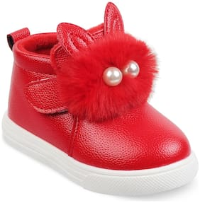 KITTENS Girls Red Shoes