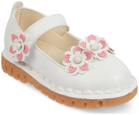 Kittens White Ballerinas For Girls