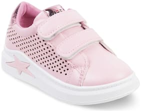 Kittens Pink Casual Shoes For Girls