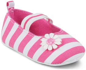 Kittens Pink Ballerinas For Infants