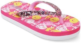 Kittens Purple Girls Slippers