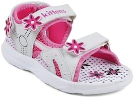 Kittens White Girls Sandals