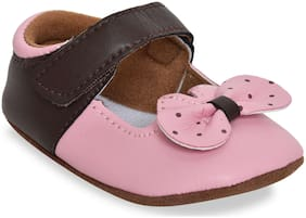 Kiwi Pink Ballerinas For Infants