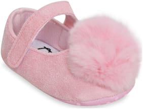 Kiwi Pink Ballerinas For Infants