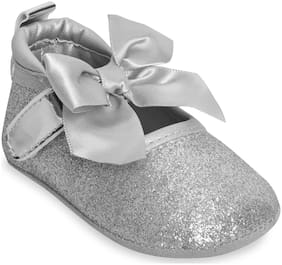 Kiwi Silver Ballerinas For Infants