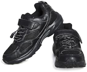 KIX Black Boys Sport shoes
