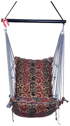 Kkriya Home Decor Completely Washable Cotton Swing