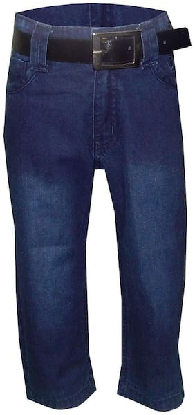 Kooka Kids Boy's Regular fit Jeans - Blue