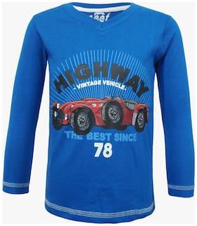 Kothari Meet The Boys Royal Blue T-Shirt