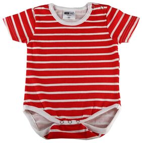 KOTTY Red And White Rompers