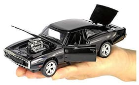KTRS  1: 32 The Fast and The Furious Diecast Alloy Metal Dodge Charger Model Classic Cars Toys for Kids
