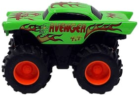 KTRS 4x4 Diecast Monster Truck Toy Cars Pull Back Action