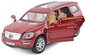 KTRS   Benz GL500 Die-Cast 4 Wheel Drive Metal Car Pull Back with 6 Openable Doors  Engine Cover  Tail with Front and Rear Light & Music