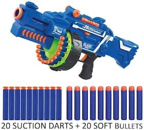 KTRS Blaze Storm Soft Bullet Automatic Gun  40 Darts Included for kids
