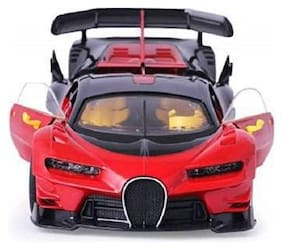 KTRS Bugatti Style Remote Control Car with Openable Doors  Dickey and Rechargable Batteries