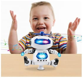 Ktrs Dancing Robot with 3D Lights and Music