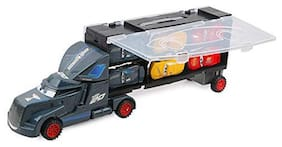 KTRS Die-cast Unbreakable Construction Car Truck Carrier Vehicle Toy Play Set