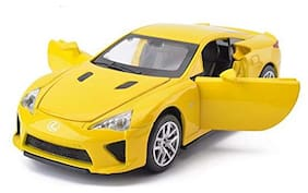 KTRS ENTERPRISE1:32 Die-cast Alloy Lexus LFA Car with Music & Light & Openable Doors Vehicle Models Collectible Toys Colors As Per Stock