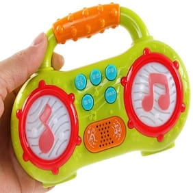 KTRS ENTERPRISE Mini Multifunction Radio Musical Instruments Toy with Different Modes and Animal Sound and Led Lighting Toys for Kids;Toddlers