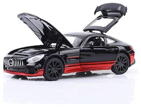 KTRS ENTERPRISE Die-Cast 1:32 Scale Model Car Toy - Push & Go Metal Car Toy | Pull Back with 3 Openable Doors with Light and Sound Effects for 3+ Year Old.