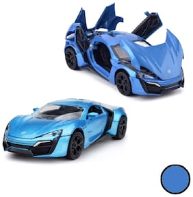 KTRS ENTERPRISE Metal Hypersport in 1:32 Scale and Limited Edition of die-cast Alloy car Model | Available in Multi-Color | This Price for 1 Piece