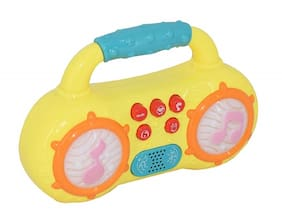 KTRS ENTERPRISE Mini Multifunction Radio Musical Instruments Toy with Different Modes and Animal Sound and Led Lighting Toys for Kids;Toddlers;Baby 1 pic only