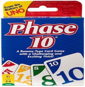 KTRS ENTERPRISE Phase 10 Card Game -Pack of 1