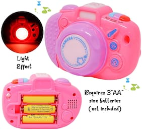 KTRS ENTERPRISE Animal Sound Effect Mini Toy Camera for Kids with Light and   Musical Toy for Kidsand Lively Sound Effects