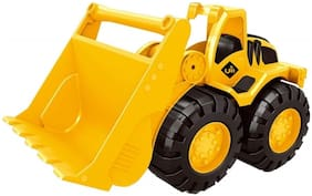 Ktrs enterprises Bulldozer Construction Engineering Toy Vehicle (New JCB) 1 pic