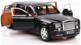 KTRS Enterprises Webby 1:24 Scale Die Cast Rolls Royce Phantom Pull Back Sedan with Blinking Lights 1 pic