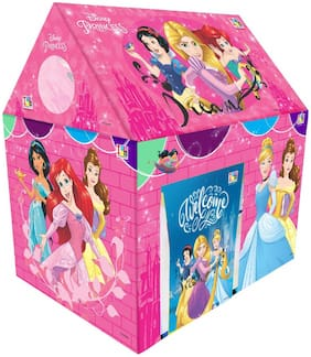 Ktrs enterprises Disney Princess Play Tent House for Kids of Age 3 to 8 Years in Handle Box Packing