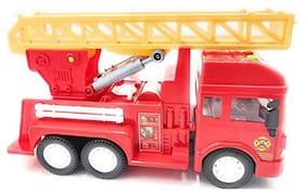 Ktrs enterprises Unbreakable Plastic Friction Powered Excavator Big (JCB) Construction Truck Toy for Kids 1 pic
