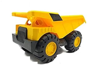 Ktrs enterprises  Unbreakable Plastic Friction Powered Dump Construction Truck Toy for Kids  1 pic