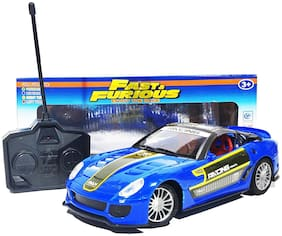 KTRS Fast and Furious Fully loaded radio control car