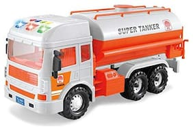 Ktrs Friction Powered Realistic Fire Rescue Truck Toy with Light and Musical Fire Truck for Kids 1 pic