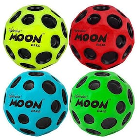 Ktrs Moon boll (Multicolor) Pack of 4