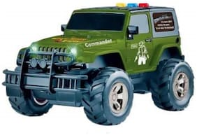 Ktrs Powered Jeep Toy with Light & Sound Toy for Kids 1 pic