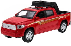 SKS Raptor SUV Die-Cast 4 Wheel Drive Metal Car Pull Back with 4 Openable Doors  Engine Cover  Tail with Front and Rear Light & Music
