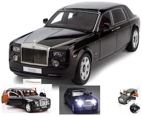 ktrs  Rolls Royce Phantom Pull Back Sedan with Blinking Lights
