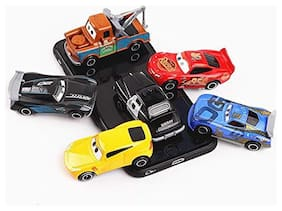 KTRS Unbreakable Pull Back Car Truck Toy Set for Kids