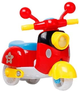 Ktrs Unbreakable Mini Scooter, Friction Toy Scooter