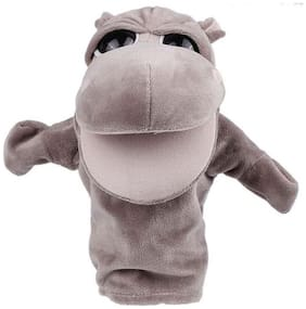 Kuhu Creations Hippo Hand Puppet