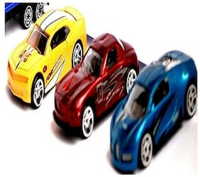 Kuhu Creations  Classical Toys Cars Vehicle Gift Pack. (5 Units, Mix Multicolor)