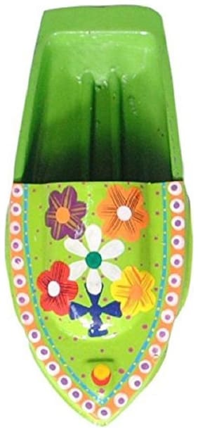 Kuhu Creations  Supreme Practical Science Learning Tin Boat Water Toys. (1 Units, Lime Green (Flower Pattern) Boat)