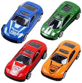 Kuhu Creations  Classical Toys Cars Vehicle Gift Pack. (7 Units, Mix Multicolor)