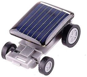 Kuhu Creations  Innovative Cute Ultra Small Solar Energy Car. (1 Units, Grey Multicolor)