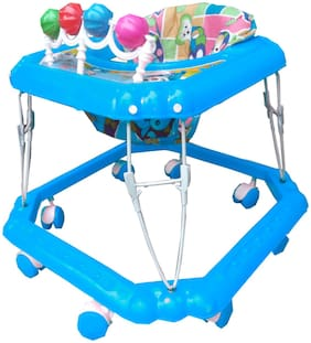 Kusum Blue Musical Square Baby Walker