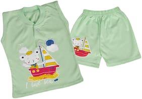LA SMITH Baby boy Top & bottom set - Green